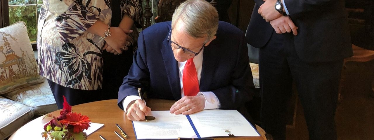 Governor DeWine Signing Executive Order
