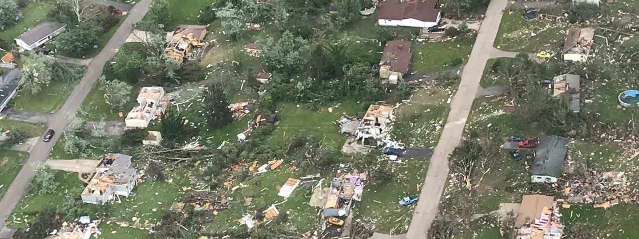 Photo of Tornado Destruction