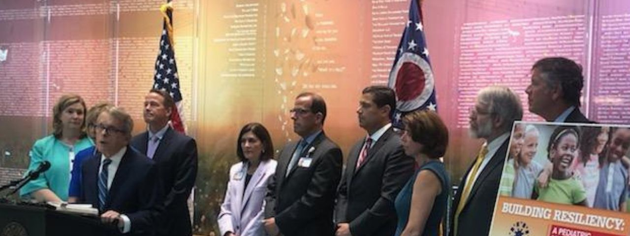 Governor Dewine Ohio Children S Hospital Association Announce Pediatric Mental Health Summit